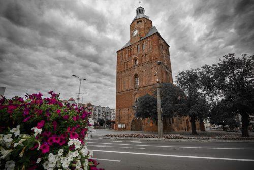 St. Mary's Cathedral in Gorzow Wielkopolski, Poland